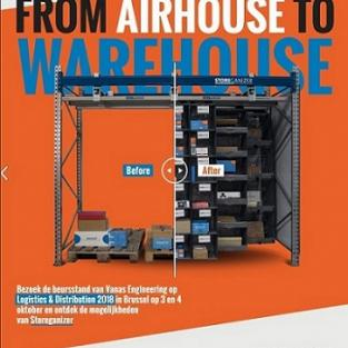 Storeganizer: from airhouse to warehouse