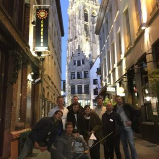 Teambuilding 'Lost in Antwerp'