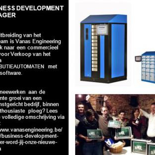 BUSINESS DEVELOPMENT MANAGER:  word jij onze nieuwe collega?