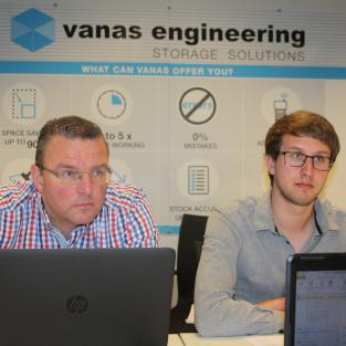 VANAS ENGINEERING START MET TOEPASSING SALESFORCE