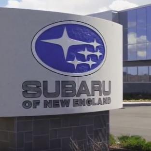 Distributiemagazijn bij Subaru