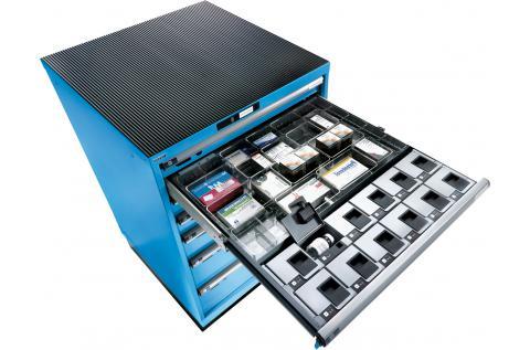 Lista Schuifladenkast  cabinet control