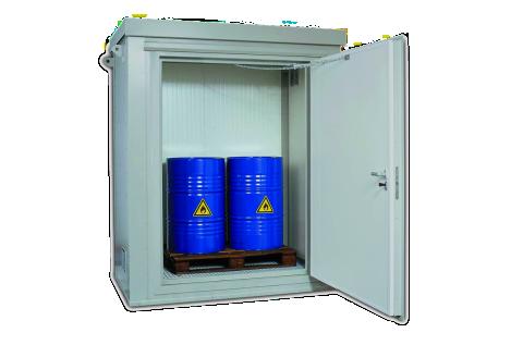 Milieu- en brandwerende containers