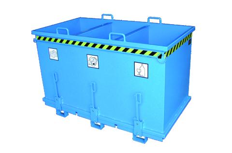 Afval- en kipcontainers
